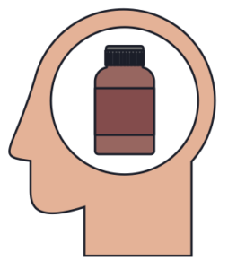 Drugs in Head Icon